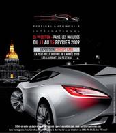 24e Festival automobile international : exposition de concept car et élection de la plus belle voiture de l'année