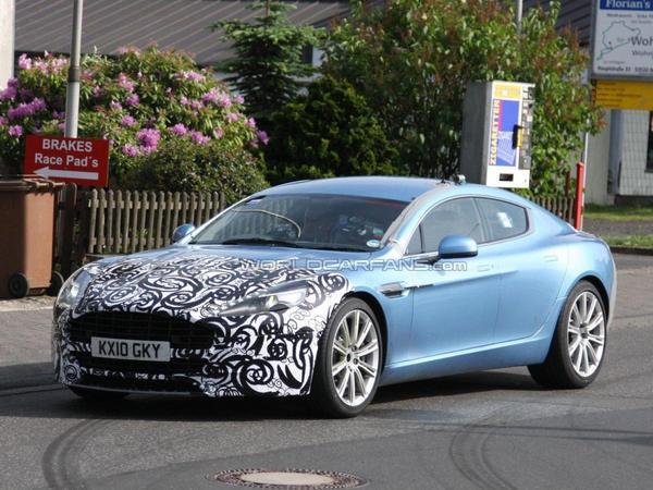 L'Aston Martin Rapide passe déjà au lifting