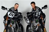 Motocross : Gautier Paulin et Davide Philippaerts continuent chez Yamaha Monster