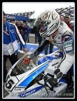Régis Laconi de retour sur sa Ducati