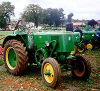 Flashé à 136 km/h en tracteur