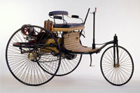 il y a 120 ans naissait la premi re voiture. Black Bedroom Furniture Sets. Home Design Ideas