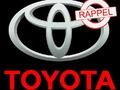 C'est officiel : nouveau rappel de 270 000 voitures pour Toyota