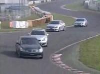Tsukuba battle : Lexus ISF vs M3 E92 vs Mercedes C63 AMG