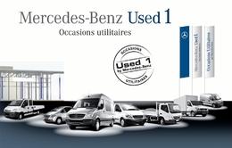 "Mercedes lance le label occasion ""used 1"" pour ses véhicules utilitaires."