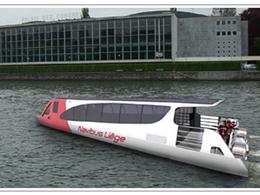 Bateau-bus en Belgique : le projet Navibus sur la Meuse liégeoise