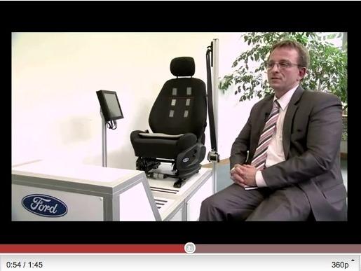 Ford présente un siège capable de mesurer le rythme cardiaque pour anticiper les malaises au volant
