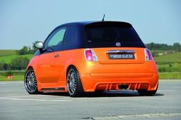 Fiat 500 par Rieger : mandarine sans pépins