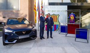 Cupra devient partenaire officiel du FC Barcelone