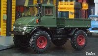 Miniature : 1/43ème - MERCEDES Unimog 406 U 65