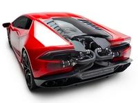 Underground Racing colle 2 turbos à la Lamborghini Huracan
