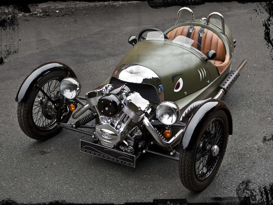 Le Morgan Three Wheeler disponible en France