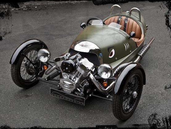 Le Morgan Three Wheeler disponible en France