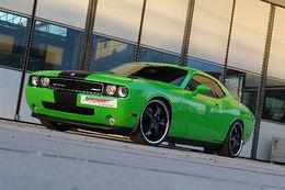 Dodge Challenger SRT8 Geiger Cars, V8 + compresseur : 569 chevaux