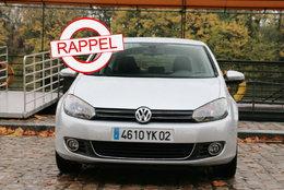 Un premier rappel pour la Volkswagen Golf VI (6)