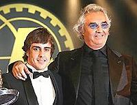 """F1: """"Si j'aimerais qu'Alonso revienne ? Bien sûr que j'aimerais !"""" F.Briatore"""