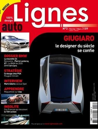Design : LIGNES auto n°3 dans les kiosques