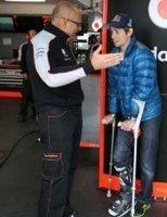 Moto GP - Honda: Casey Stoner a fait une sortie
