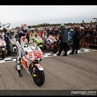 Moto GP - Valence: L'hommage à Marco Simoncelli en images