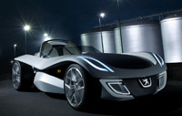 Peugeot à Francfort: Où t'as mis Flux ?