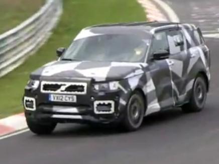 Vu en vidéo : le futur Range Rover Sport sur le Nürburgring
