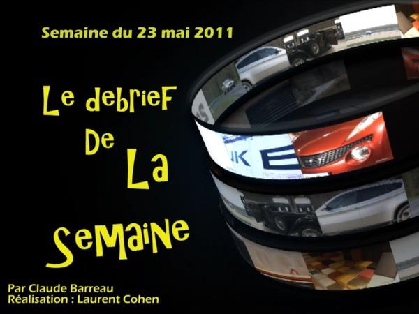 En vidéo, les infos de la semaine qu'il ne fallait pas rater (23 -27 mai) - La vidéo Buzz de Sarkozy - Essais Audi RS3 etc