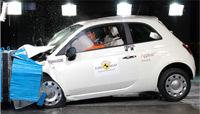 Euro NCap: Fiat 500, Renault Twingo, Kia Cee'd, Peugeot 308: toutes à 5 sauf une...
