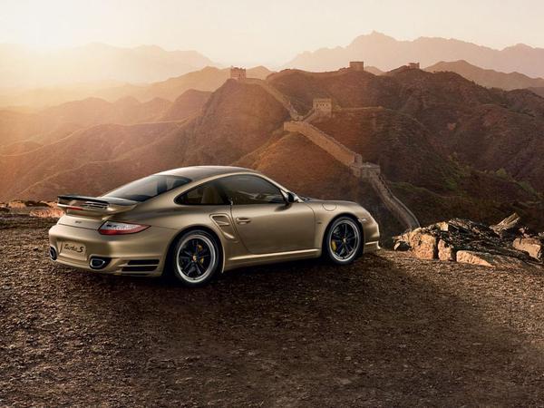 Porsche 911 Turbo S 10 Year Anniversary Edition : pour la Chine