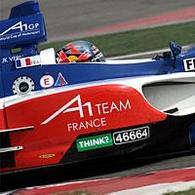 A1 GP: Nicolas Prost dans le team France