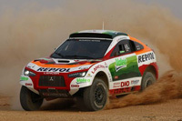 Mitsubishi se retire du rallye-raid