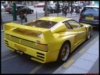 La photo du jour : Ferrari Testarossa Koenig biturbo