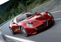 Spéculation sur l'Alfa Romeo 8C Competizione : plus chère en occasion que neuve ! Graine de collector ?