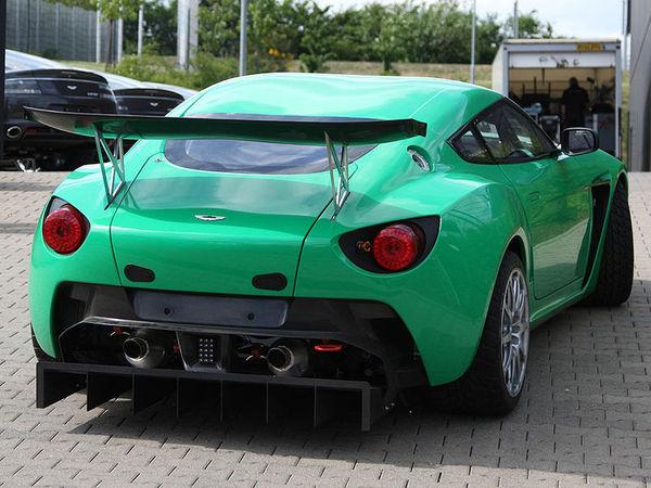 L'Aston Martin V12 Zagato Competizione débarque sur le Nürburgring