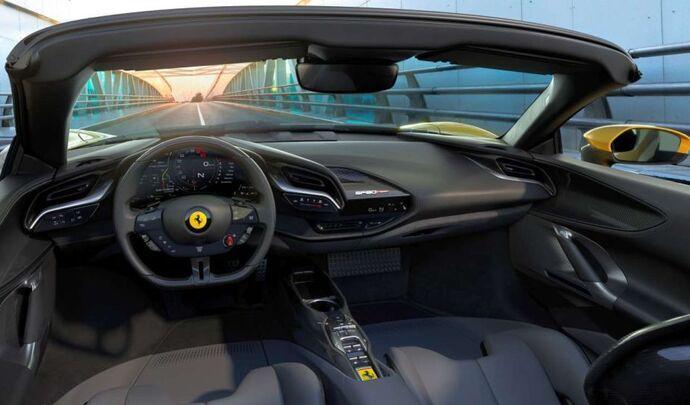 Ferrari lancera sa première électrique en 2025