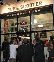 Ouverture d'une boutique exclusive Tucano Urbano à Paris.