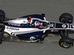 Williams teste ses nouvelles évolutions