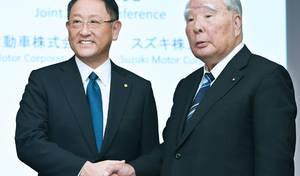 """Toyota et Suzuki fondent une """"alliance"""""""