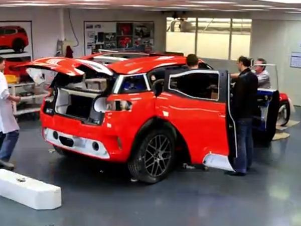[vidéo] Citroën montre l'élaboration du concept Aircross
