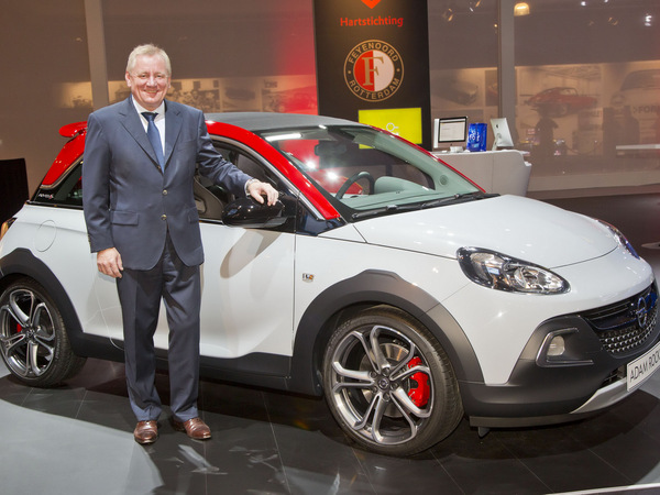 Amsterdam 2015 : première mondiale pour l'Opel Adam Rocks S