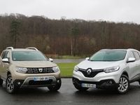 Vidéo - Renault Kadjar vs Dacia Duster : la french connection