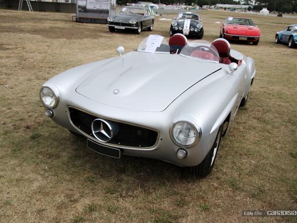 Photos du jour : Mercedes Benz SL Roadster 1957 (Le Mans classic)