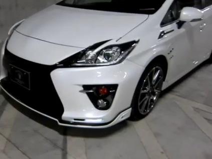 Une Toyota Prius très spéciale par Tommy Kaira