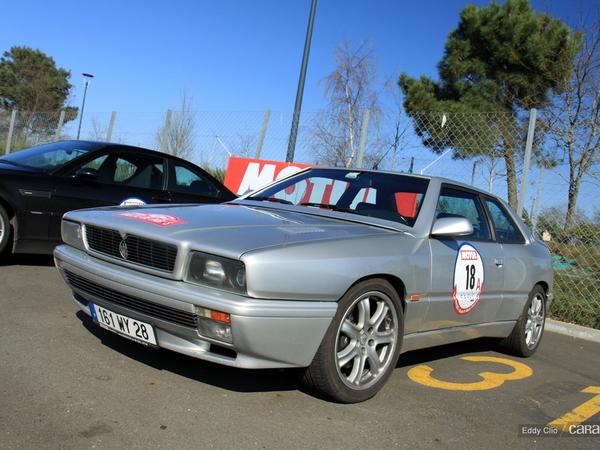Photos du jour : Maserati Ghibli (Rallye de Paris)