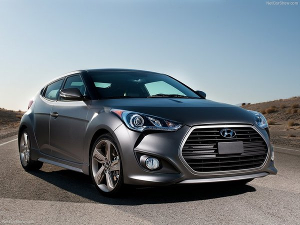 Hyundai Veloster turbo : elle sera au Mondial de l'Auto