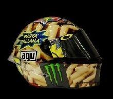 Moto GP - Valentino Rossi: un nouveau casque pour le Grand Prix d'Italie