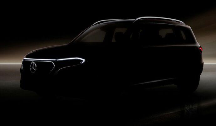 Mercedes annonce l'électrique EQB