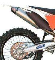 CRD: déjà un pot pour la KTM SXF 350 millésime 2011.