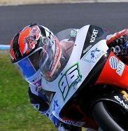 Louis Rossi en première ligne du GP de Valence