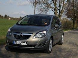 Le Nouvel Opel Meriva plus sobre sortira en septembre 2010