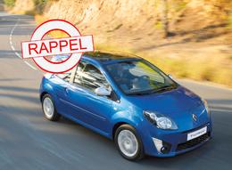 La Renault Twingo 2 au rappel : elle a les sièges baladeurs !